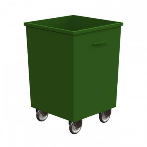 Контейнер металлический 0,75 куб.м (2мм) с колесами