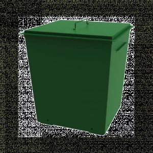 Контейнер металлический 0,75 куб.м (1,5 мм) с крышкой
