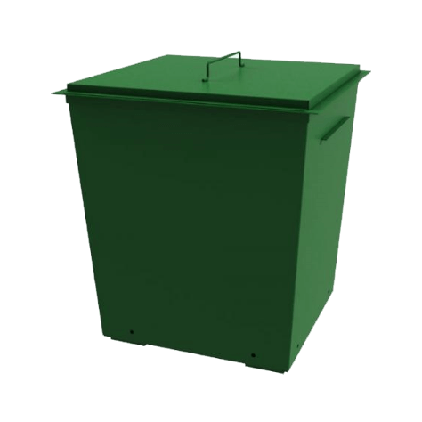 Металлические контейнеры для сбора ТКО: чем отличаются от пластиковых.